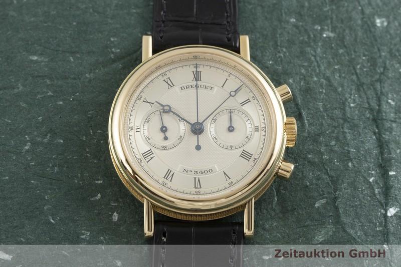 gebrauchte Luxusuhr Breguet Classique Chronograph 18k Gold Handaufzug Kal. 897 Ref. 3237    2000883 _1