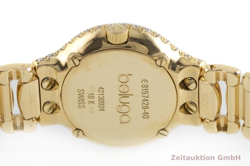 gebrauchte Luxusuhr Ebel Beluga 18k Gold Quarz Kal. 157 Ref. E8157428-40  | 2000897 _0