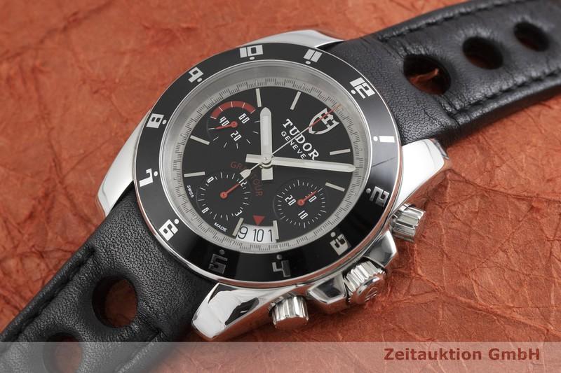 gebrauchte Luxusuhr Tudor Grantour Chronograph Stahl Automatik Kal. ETA 7753 Ref. 20350  | 2000903 _0