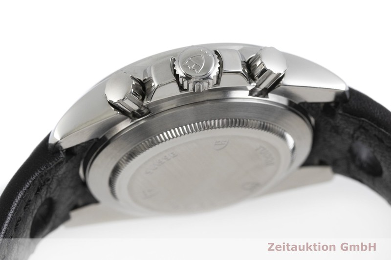 gebrauchte Luxusuhr Tudor Grantour Chronograph Stahl Automatik Kal. ETA 7753 Ref. 20350  | 2000903 _1