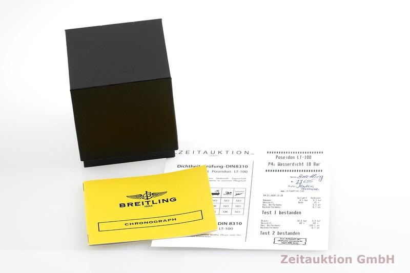 gebrauchte Luxusuhr Breitling Chronomat Chronograph Stahl Automatik Kal. B13, ETA 7750 Ref. A13050.1  | 2000915 _0