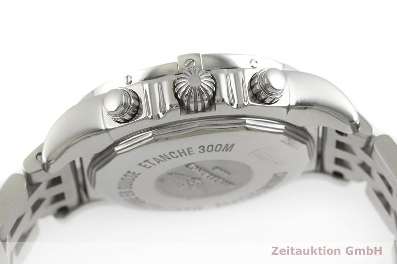 gebrauchte Luxusuhr Breitling Chronomat 41 Chronograph Stahl Automatik Kal. B01 Ref. AB0140  | 2000931 _0