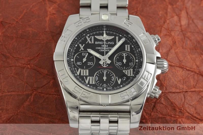 gebrauchte Luxusuhr Breitling Chronomat 41 Chronograph Stahl Automatik Kal. B01 Ref. AB0140  | 2000931 _1