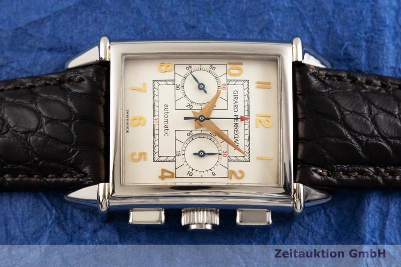 gebrauchte Luxusuhr Girard Perregaux Vintage Chronograph 18k Weissgold Automatik Kal. 3080 Ref. 2599    2000958 _0