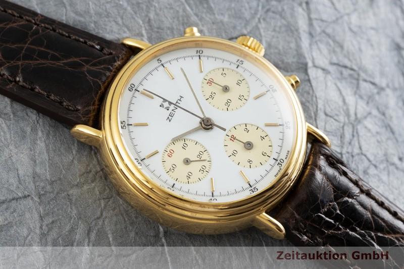 gebrauchte Luxusuhr Zenith * Chronograph Stahl vergoldet Handaufzug Kal. 146 HP  | 2000975 _1
