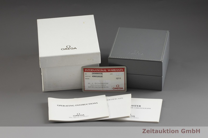 gebrauchte Luxusuhr Omega Seamaster Chronograph Stahl Automatik Kal. 1154, ETA 7750 Ref. 178/378.0504, 175/375.0504, 28988008  | 2001010 _0