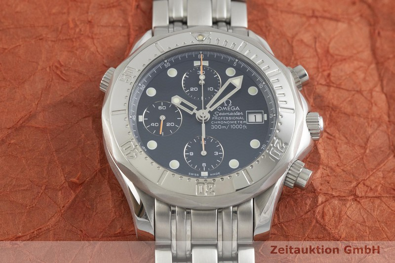 gebrauchte Luxusuhr Omega Seamaster Chronograph Stahl Automatik Kal. 1154, ETA 7750 Ref. 178/378.0504, 175/375.0504, 28988008  | 2001010 _1