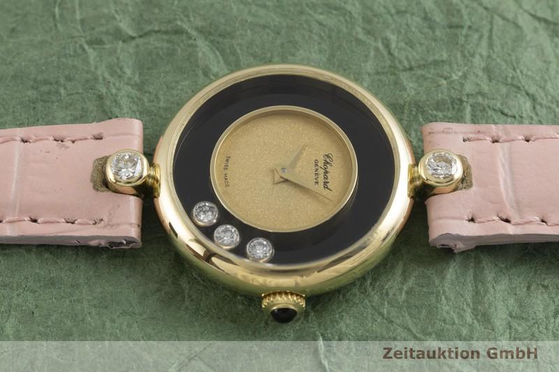 gebrauchte Luxusuhr Chopard Happy Diamonds 18k Gold Handaufzug Kal. ETA 2442 Ref. 40366  | 2001033 _0