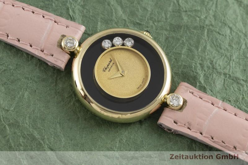 gebrauchte Luxusuhr Chopard Happy Diamonds 18k Gold Handaufzug Kal. ETA 2442 Ref. 40366  | 2001033 _1