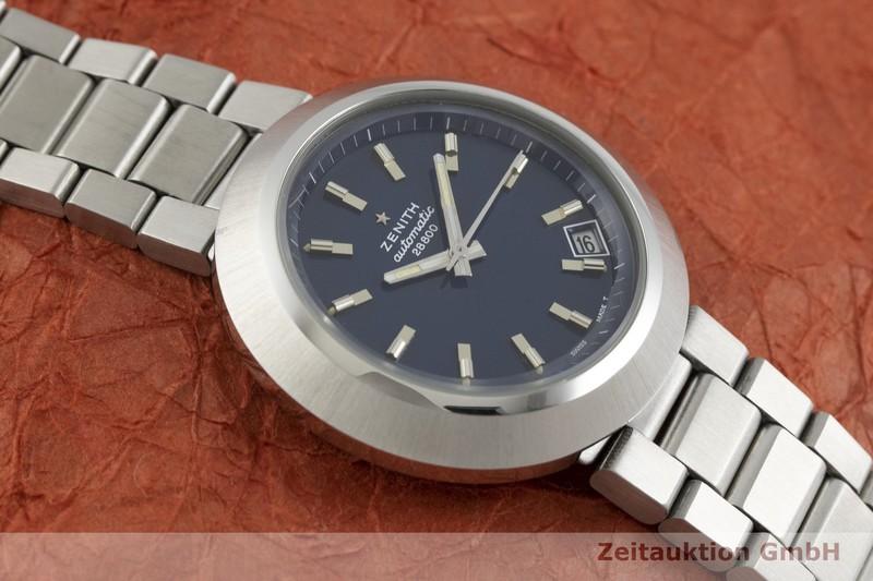 gebrauchte Luxusuhr Zenith Diver Blue Stahl Automatik Kal. 2562PC Ref. 01-1180-290, BT 6001 VINTAGE  | 2001039 _1