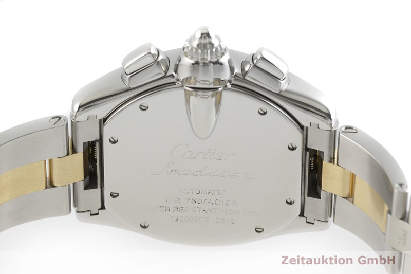gebrauchte Luxusuhr Cartier Roadster Chronograph Stahl / Gold Automatik Kal. 8510, ETA 2894-2 Ref. 2618  | 2001040 _0