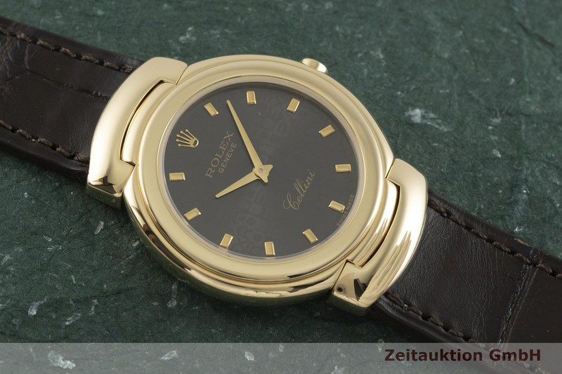 gebrauchte Luxusuhr Rolex Cellini 18k Gold Quarz Kal. 6620 Ref. 6622, 293400  | 2001052 _1