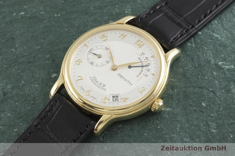 gebrauchte Luxusuhr Zenith Elite 18k Gold Handaufzug Kal. 655 Ref. 30.0240.655/01  | 2001055 _0