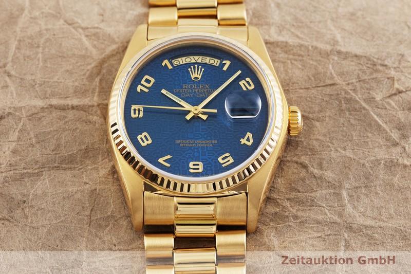 gebrauchte Luxusuhr Rolex Day-Date 18k Gold Automatik Kal. 3055 Ref. 18038  | 2001064 _1
