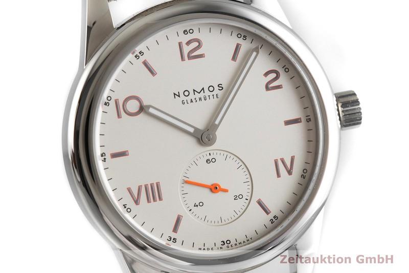 gebrauchte Luxusuhr Nomos Club Stahl Handaufzug Kal. Alpha Ref. 708  | 2001067 _0