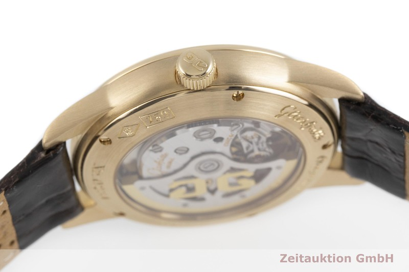 gebrauchte Luxusuhr Glashütte Senator 18k Gold Automatik Kal. 39-41  | 2001072 _0