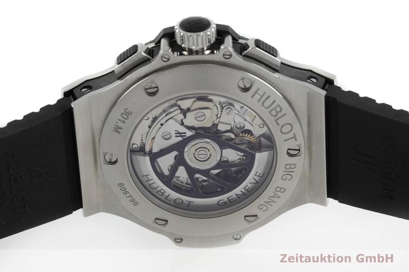 gebrauchte Luxusuhr Hublot Big Bang Chronograph Keramik / Stahl Automatik Kal. ETA 7750 Ref. 301.M  | 2001074 _0