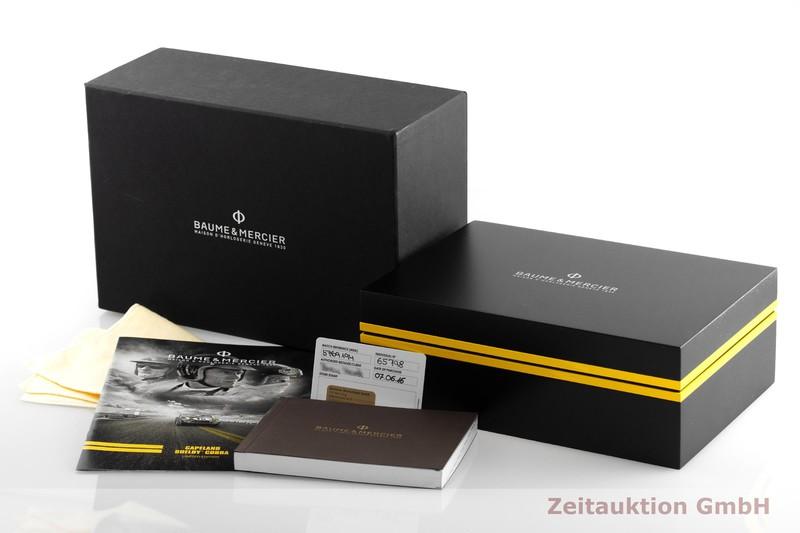 gebrauchte Luxusuhr Baume & Mercier Capeland Chronograph Stahl Automatik Kal. BM137753, ETA 7753 Ref. 5769194  | 2001077 _0