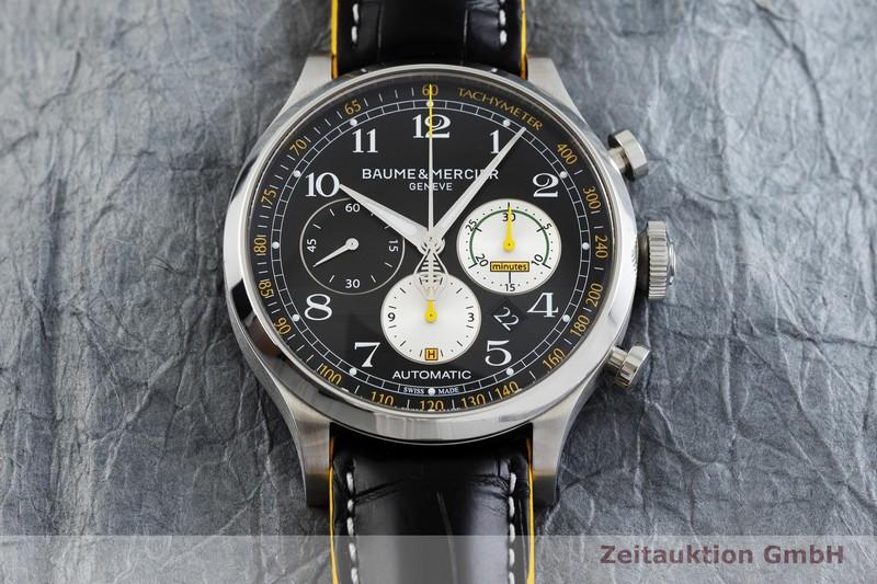gebrauchte Luxusuhr Baume & Mercier Capeland Chronograph Stahl Automatik Kal. BM137753, ETA 7753 Ref. 5769194  | 2001077 _1