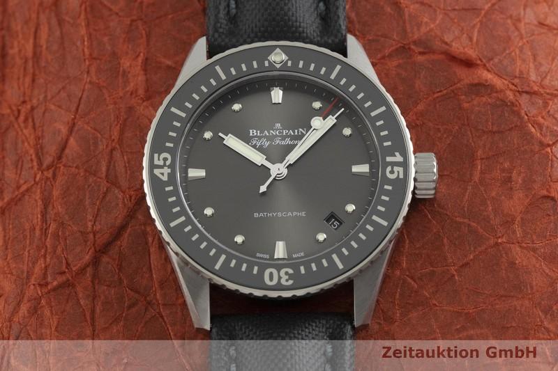 gebrauchte Luxusuhr Blancpain Fifty Fathoms Stahl Automatik Kal. 1150 Ref. 5100B1110    2001083 _1