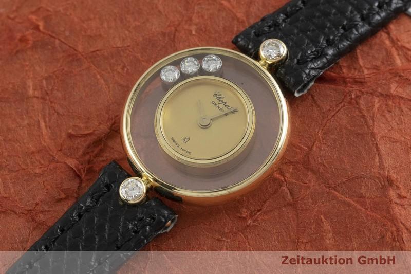 gebrauchte Luxusuhr Chopard Happy Diamonds 18k Gold Quarz Kal. FHF101.001 Ref. 33929  | 2001125 _0