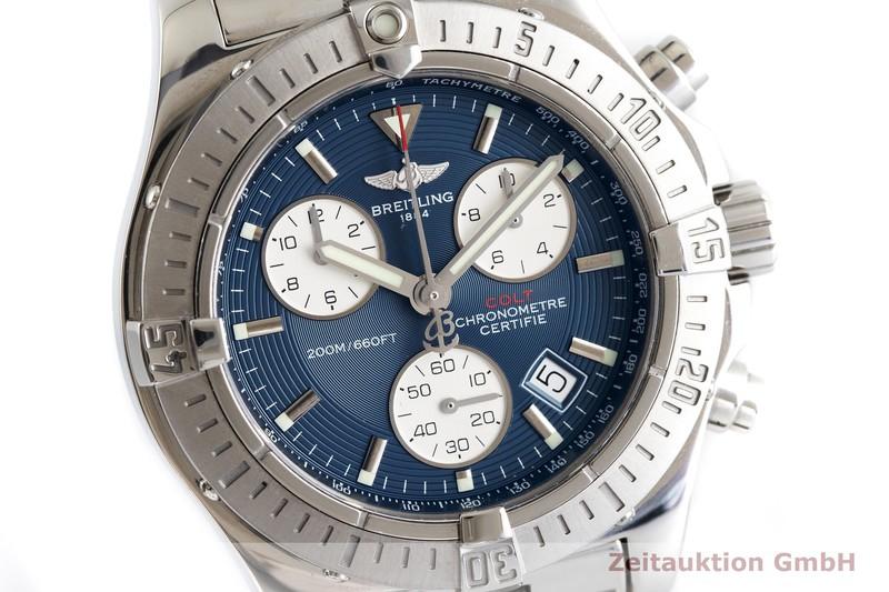 gebrauchte Luxusuhr Breitling Colt Chronograph  Chronograph Stahl Quarz Kal. ETA 251.264 Ref. A73380  | 2001140 _0
