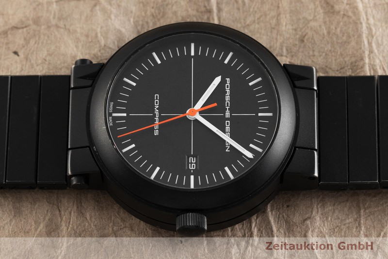gebrauchte Luxusuhr Porsche Design Compass Stahl Automatik Kal. SW 300 Ref. 270.275, 6520.13.41.0270HN LIMITED EDITION | 2001178 _0