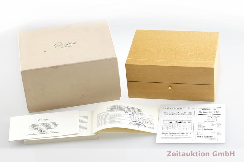 gebrauchte Luxusuhr Glashütte PanoInverse XL Stahl Handaufzug Kal. GUB 66 Ref. 66-04-04-02-05  | 2001223 _0