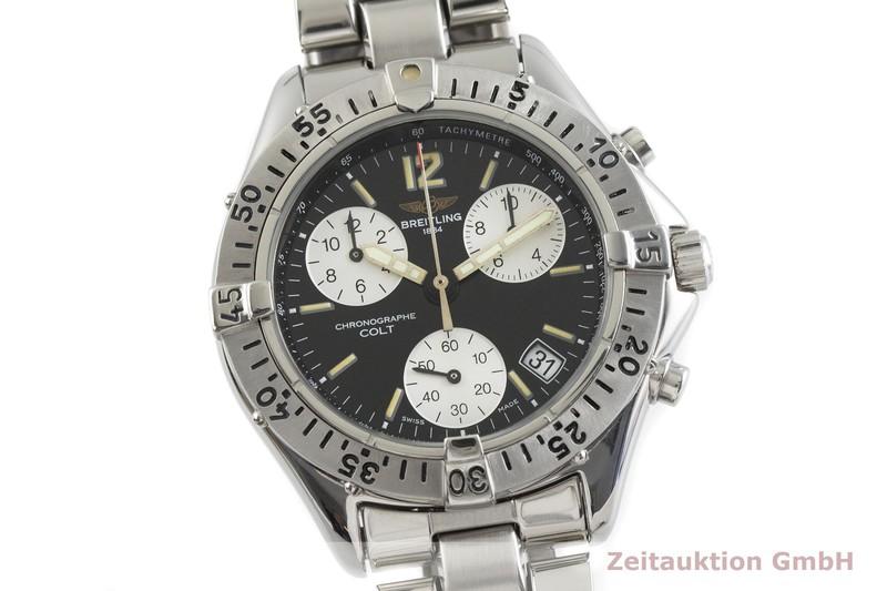 gebrauchte Luxusuhr Breitling Colt Chronograph  Chronograph Stahl Quarz Kal. B53, ETA 281.262 Ref. A53035  | 2001231 _0