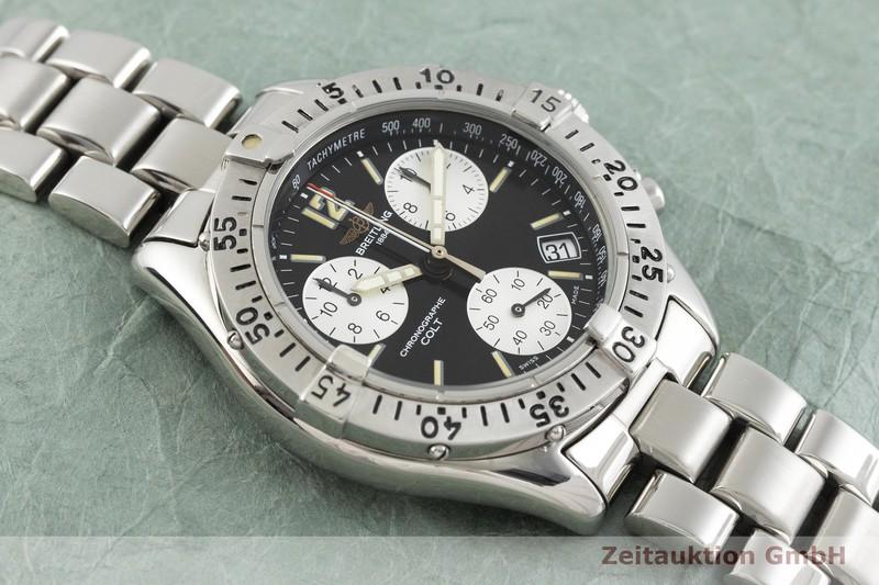 gebrauchte Luxusuhr Breitling Colt Chronograph  Chronograph Stahl Quarz Kal. B53, ETA 281.262 Ref. A53035  | 2001231 _1
