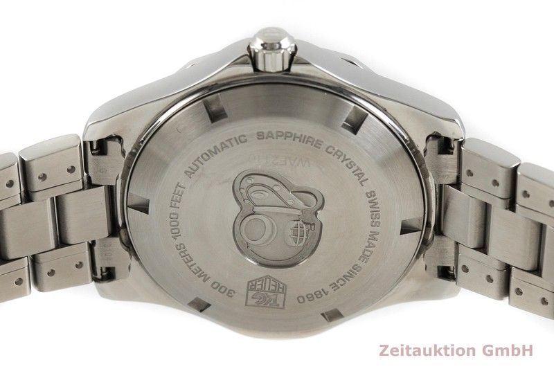 gebrauchte Luxusuhr Tag Heuer Aquaracer Stahl Automatik Kal. 5, ETA 2824-2 Ref. WAF2110  | 2001241 _0