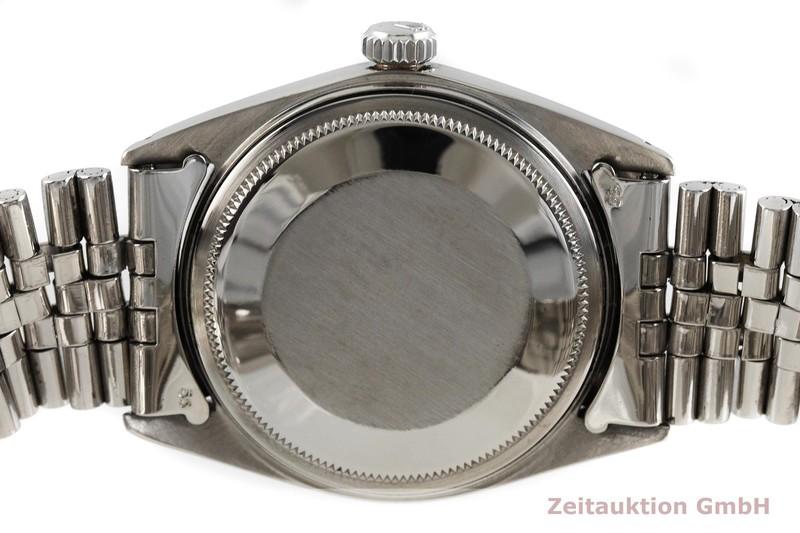 gebrauchte Luxusuhr Rolex Datejust Stahl / Weissgold Automatik Kal. 1570 Ref. 1601  | 2001257 _0