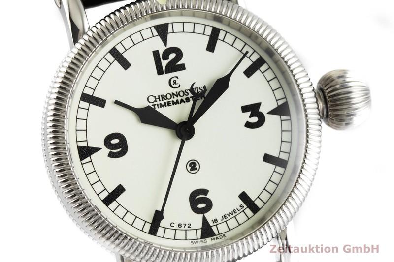 gebrauchte Luxusuhr Chronoswiss Timemaster Stahl Handaufzug Kal. C.672 Ref. CH6233    2001264 _0