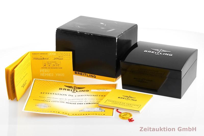 gebrauchte Luxusuhr Breitling Superocean Chronograph Chronograph Stahl Automatik Kal. B13, ETA 7750 Ref. A13320  | 2001271 _0