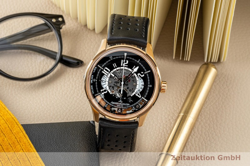 gebrauchte Luxusuhr Jaeger LeCoultre Amvox 2 Chronograph 18k Rotgold Automatik Ref. 192.2.25 LIMITED EDITION | 2001279 _0