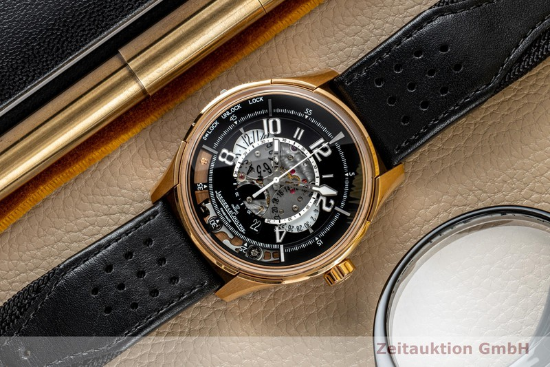 gebrauchte Luxusuhr Jaeger LeCoultre Amvox 2 Chronograph 18k Rotgold Automatik Ref. 192.2.25 LIMITED EDITION | 2001279 _1