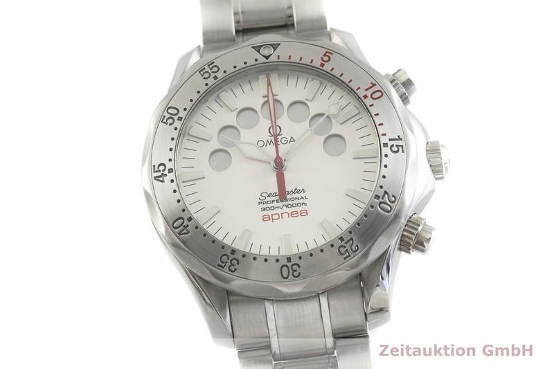 gebrauchte Luxusuhr Omega Seamaster Chronograph Stahl Automatik Kal. 3601 Ref. 175.0518  | 2001293 _0