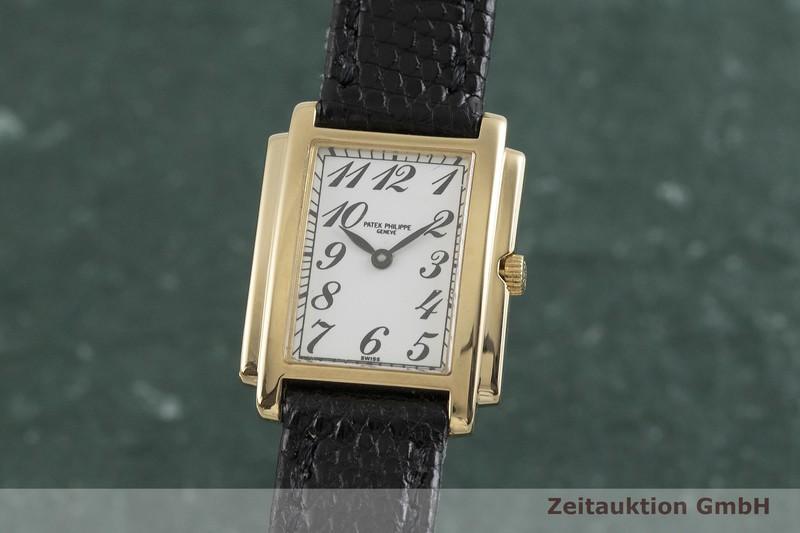 gebrauchte Luxusuhr Patek Philippe Gondolo 18k Gold Quarz Kal. E15 Ref. 4824  | 2001311 _0