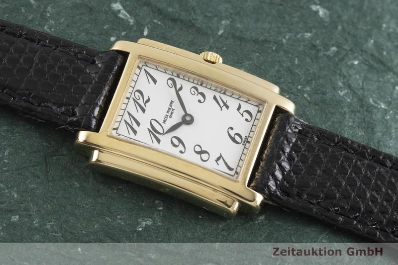 gebrauchte Luxusuhr Patek Philippe Gondolo 18k Gold Quarz Kal. E15 Ref. 4824  | 2001311 _1