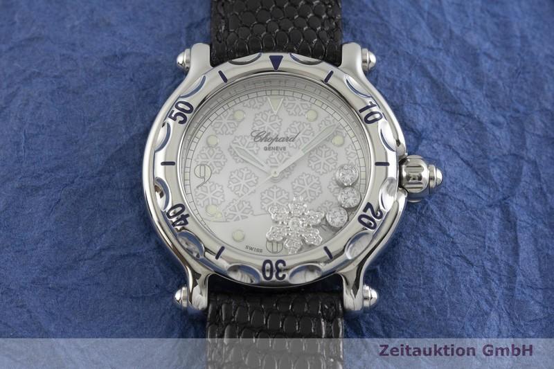 gebrauchte Luxusuhr Chopard Happy Sport Stahl Quarz Kal. ETA 955.112 Ref. 28/8948  | 2001351 _1