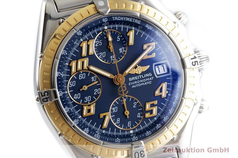 gebrauchte Luxusuhr Breitling Chronomat Chronograph Stahl / Gold Automatik Kal. B13, ETA 7750 Ref. D13050.1  | 2001353 _0