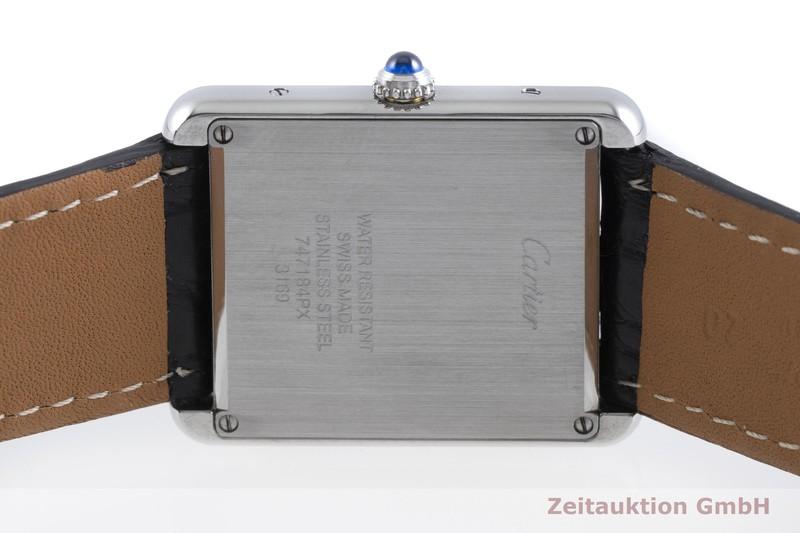 gebrauchte Luxusuhr Cartier Tank Stahl Quarz Kal. 690 Ref. 3169  | 2001383 _0