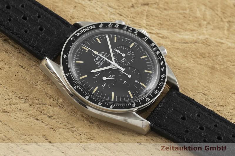 gebrauchte Luxusuhr Omega Speedmaster Moonwatch Chronograph Stahl Handaufzug Kal. 863 Ref. 345.0808  | 2001407 _1