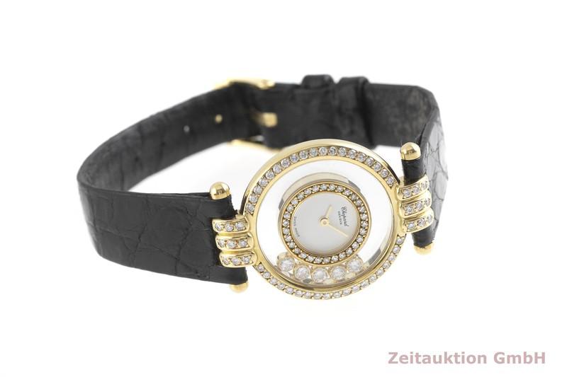 gebrauchte Luxusuhr Chopard Happy Diamonds 18k Gold Quarz Kal. ETA 201.001 Ref. 20/5605  | 2001408 _0
