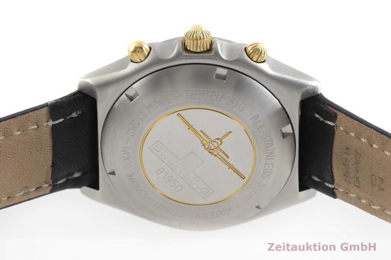 gebrauchte Luxusuhr Breitling Chronomat Chronograph Stahl vergoldet Automatik Kal. Valjoux 7750 Ref. 81950    2001433 _0
