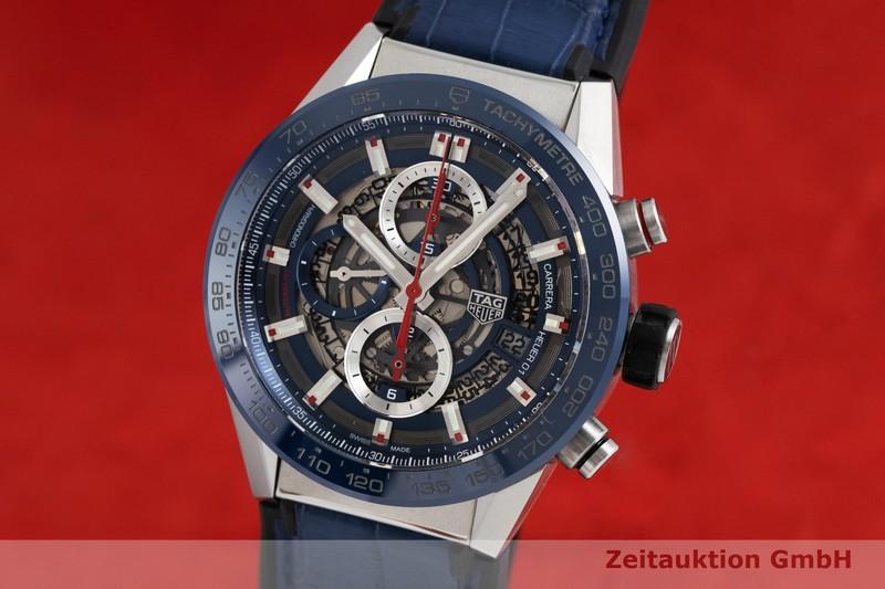 gebrauchte Luxusuhr Tag Heuer Carrera Chronograph Keramik / Stahl Automatik Kal. 01 Ref. CAR201T-0  | 2001435 _0