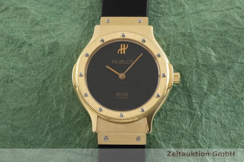 gebrauchte Luxusuhr Hublot MDM 18k Gold Quarz Kal. ETA 976.001 Ref. 1280.100.3  | 2001440 _1