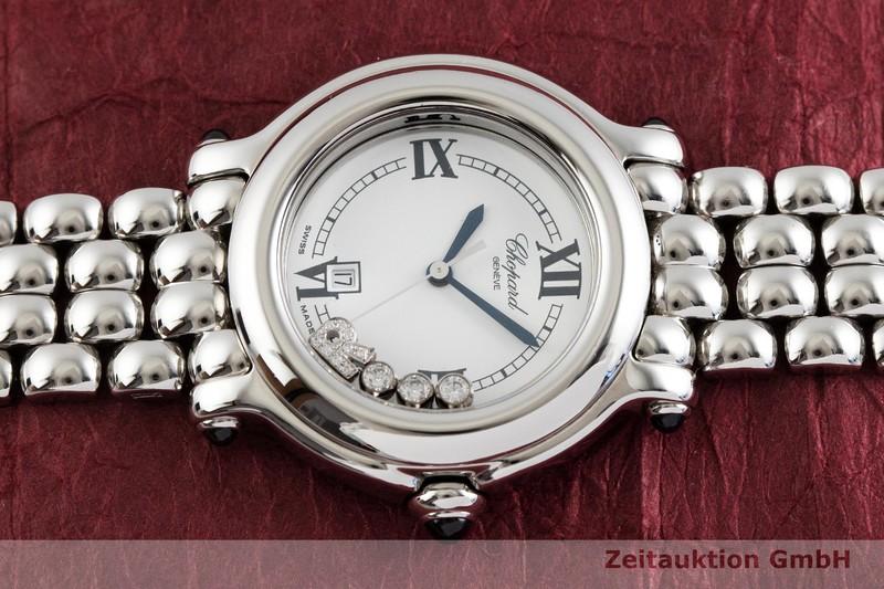 gebrauchte Luxusuhr Chopard Happy Sport Stahl Quarz Kal. ETA 956.112 Ref. 27/8236-23  | 2001454 _0