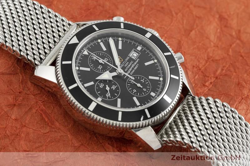 gebrauchte Luxusuhr Breitling Superocean Chronograph Chronograph Stahl Automatik Kal. B13, ETA 7750 Ref. A13320  | 2001455 _1