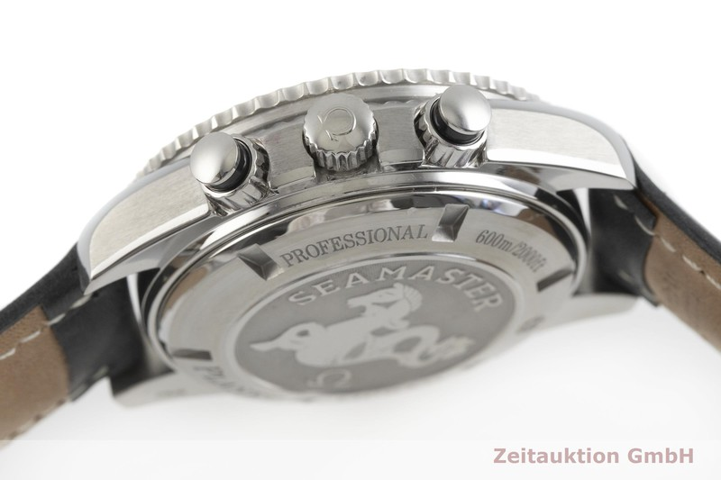 gebrauchte Luxusuhr Omega Seamaster Chronograph Stahl Automatik Kal. 3313 Ref. 178.1650  | 2001457 _1